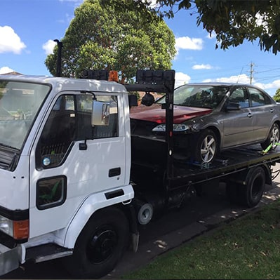 Towing happy cars